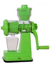 SRK Internationals Unique Green Fruits And Vegetable Juicer (SRK06), green
