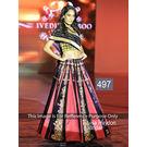 Kmozi Lisa Haydon Bridal Designer Lehenga Choli, pink