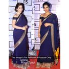Kmozi Sophi Royal Touch Designer Saree, blue