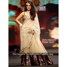 Kmozi Vidhya Bollywood Designer Lehenga, cream