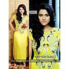 Kmozi Kajol Gold Queen Latest Kurti, yellow