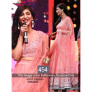 Kmozi Shruti Hassan Masakali Designer Lehenga Choli, light pink