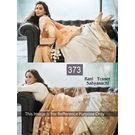 Kmozi Latest Bollywood Designer Lehenga Choli, light orange