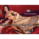 Kmozi Dipika Gold Wedding Latest Lehenga, gold