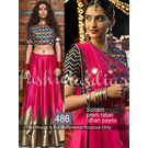 Kmozi Sonam Prem Ratan Dhan Payo Designer Lehenga Choli, pink