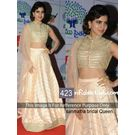 Kmozi Bridal Queen Lehenga Choli, light pink