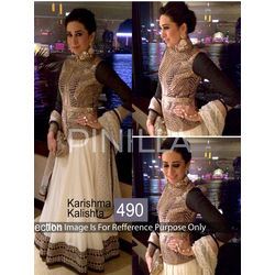 Kmozi Karishma Kalishtha Designer Lehenga Choli, cream