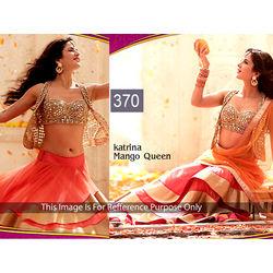 Kmozi Katrina Mango Queen Designer Lehenga Choli, pink