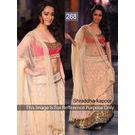 Kmozi Shraddha Kapoor Replica Lehenga, light orange