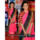 Kmozi Aasin Latest Designer Saree Buy Online, pink