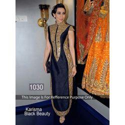 Kmozi Karishma Kapoor Anarkali At Girotra Store Opening, black