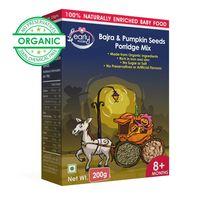Early Foods Organic Bajra & Pumpkin Seeds Porridge Mix 200g