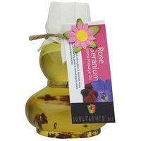 Soulflower Rose Geranium Aroma Massage Oil - 90 ml