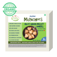 Early Foods Organic Multi-grain Millet Cookies 200g