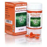 Herbal Hills Diabohills Veg 60 Tablets
