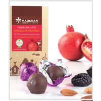 Maduban Naturals Pomegranate Prunes Dark Chocolate Truffles