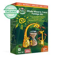 Early Foods Organic Whole Wheat & Carrot Porridge Mix 200g