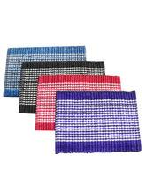 India Furnish Cotton Viscose Designer Footmat (IFDM15011), multicolor