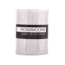 Rosemoore LED Candle, Silver
