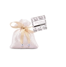 Rosemoore Mulberry Scent Sack, White