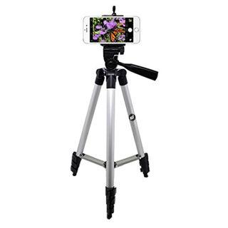 Smiledrive 105 Cm Long Tripod With Pan Tilt Head Handle For Dslr/Mobile/Gopro Action Camera