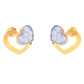 EARRING (LJKTP054), 14k, ef-vvs