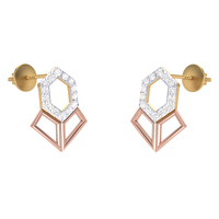 EARRING (LJER0114), 14k, hi-vs/si