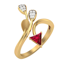 RING (LJRG103), 12, 14k, hi-vs/si