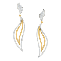 EARRING (LJER0062), 18k, hi-vs/si