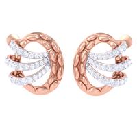 EARRING (LJER0400), 18k, hi-vs/si