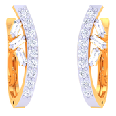 EARRING (LJKTP046), 14k, hi-vs/si