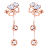 EARRING (LJER0351), 14k, hi-vs/si