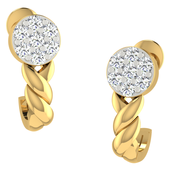 EARRING (LJER0034), 18k, hi-vs/si