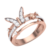 RING (LJRG015), 15, 14k, hi-vs/si