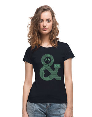 Peace & Love, m,  anthracite black