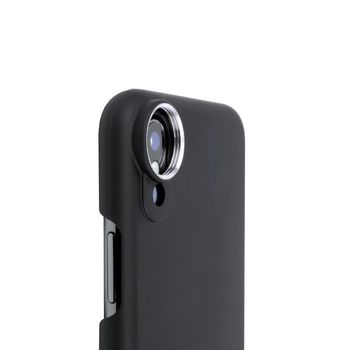 SANDMARC IPHONE X FISHEYE LENS WITH VERSATILE MOUNTING SYSTEM,  black