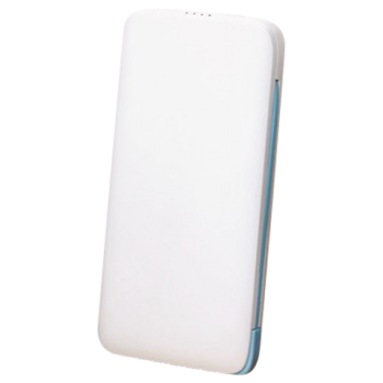 FOUR SLIM POWER BANK T09 8000MAH POWER BANK,  white