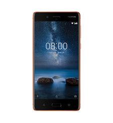 Nokia 8 64GB DUAL SIM,  copper