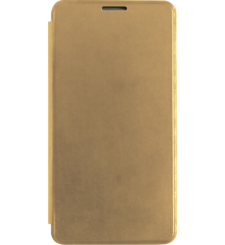 MYCANDY GALAXY A310F FLIP COVER,  gold