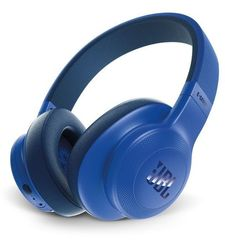 JBL E55BT Wireless over-ear headphones,  blue