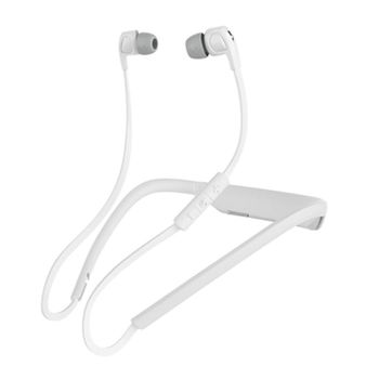 SKULLCANDY BLUETOOTH HEADSET,  white