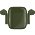 APPLE AIRPODS PAINTED SPECIAL EDITION,  army, gloss