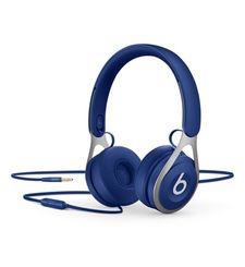 BEATS ON EAR HEADPHONES EP BLACK,  blue