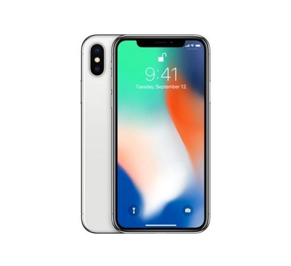 APPLE IPHONE X, silver, 64gb