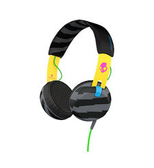 SKULLCANDY STEREO HEADPHONE GRIND,  black