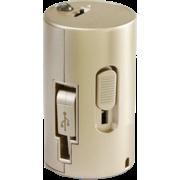 INSTAPOW CORDLESS MICRO USB POWERBANK 800MAH,  Gold