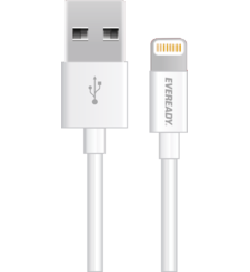 EVEREADY LIGHTNING CABLE 1M,  أبيض
