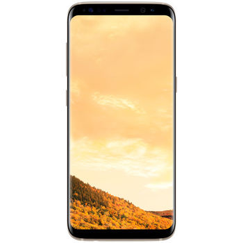SAMSUNG GALAXY S8 64GB DUAL SIM+ ZAGG KEYBOARD+ CASE,  black
