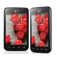LG OPTIMUS L4 II DUAL E445 DUAL SIM 3G,  black