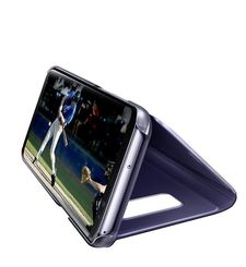 SAMSUNG GALAXY S8 PLUS CLEAR VIEW STANDING COVER,  violet